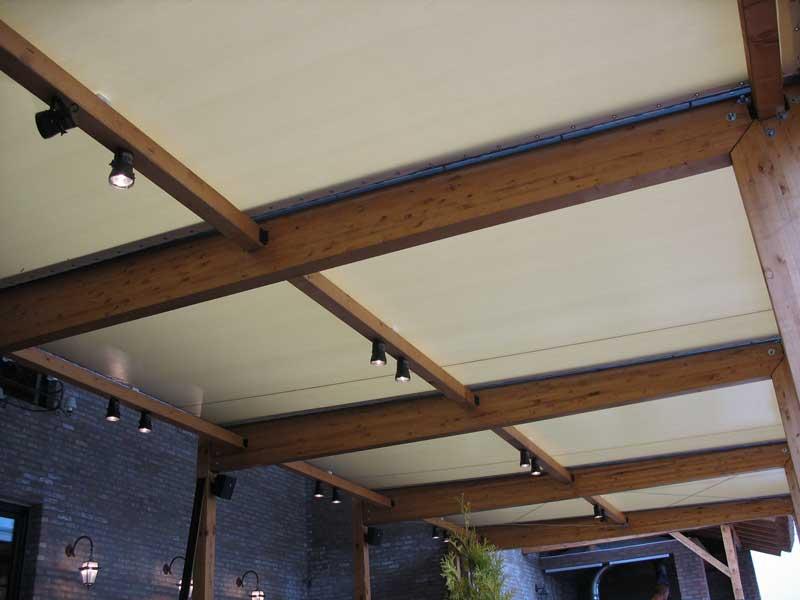 Tende letnja basta drvena konstrukcija Sabac