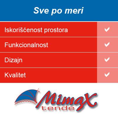 Tende po meri Mimax Tende Beograd