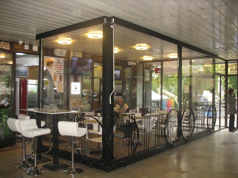 providna folija za kafice restorane