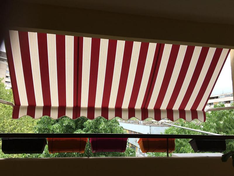 Tenda na letnjoj terasi