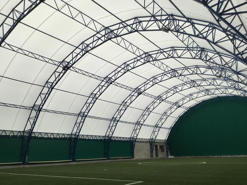 fudbalska sportska balon hala metalna konstrukcija