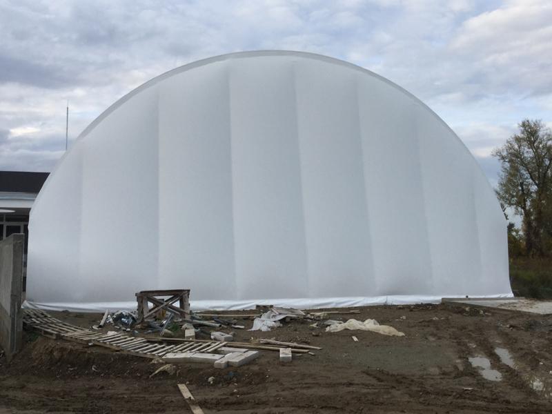 Izgradnja balon hala spotska balon hala